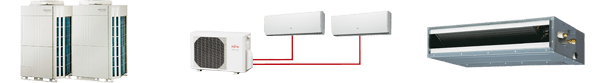 Types of air conditioning units